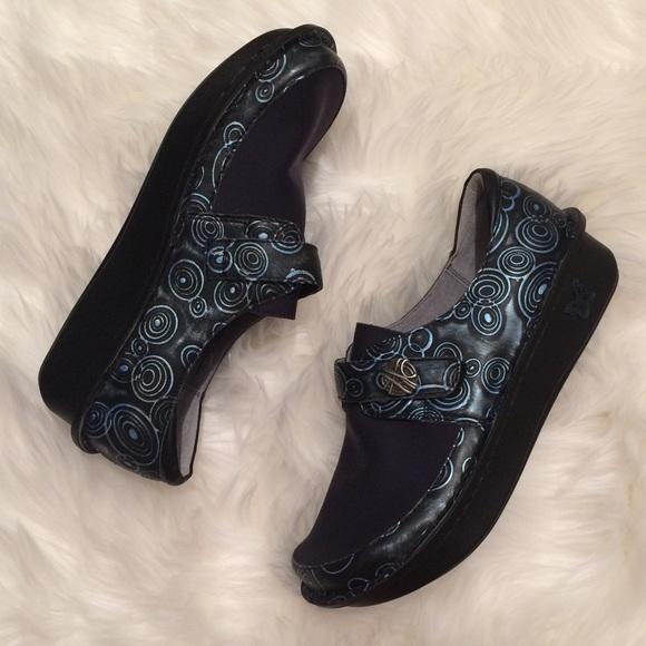 Alegria Shoes | Nwob Navy Blue Denas
